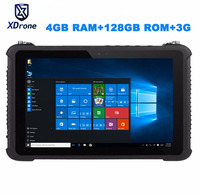 China K16T Rugged 10.1 Windows Car Diagnostic tablet IP67 Waterproof Shockproof Industrial M3 7Y30 128GB ROM High precision GPS