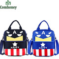 Captain America Backpack for Girls Boys Snow White Children's School Backpack Cartoon Print School Bags for Girls Kids Book Bag