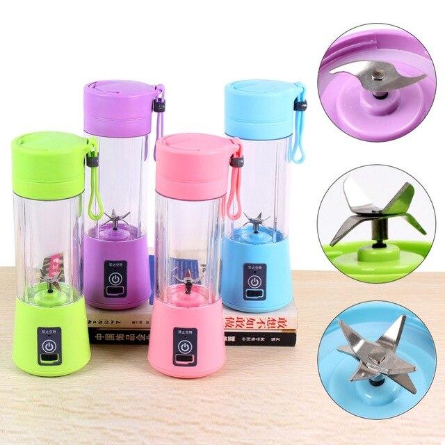Mão Liquidificador Misturador USB em Modo de Carregamento Portátil Pequeno Mini Whisk Casa Juicer Extrator De Suco de Frutas Máquina Smoothie Criador