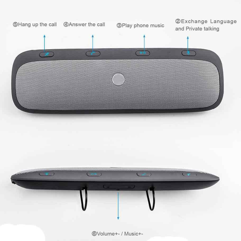 Pro Bluetooth Car Kit Hands Free Динамик телефон TZ900 RE сотовый телефон плеер адаптер Аксессуары