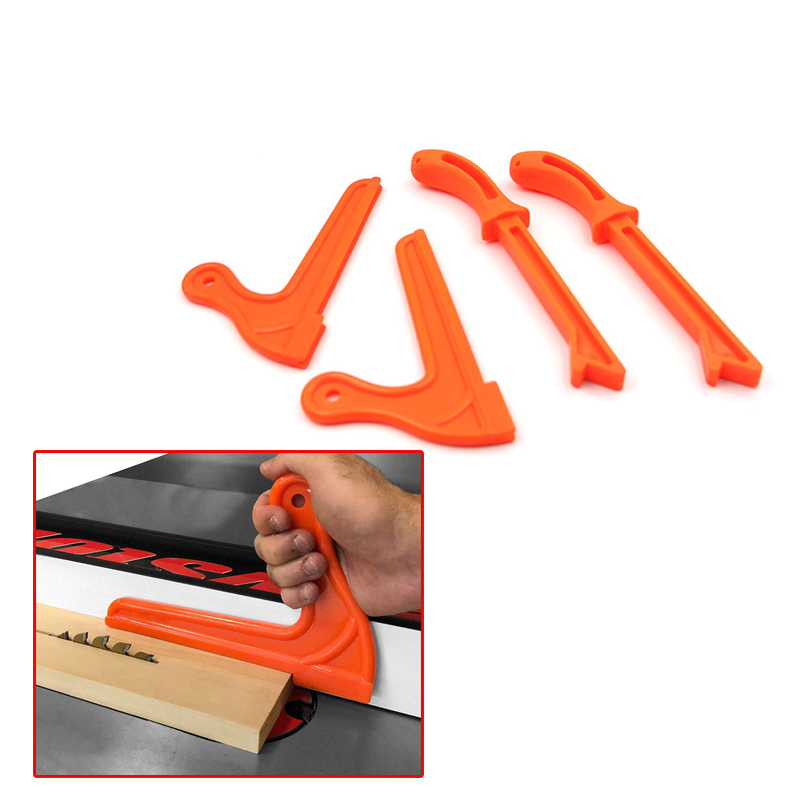 Push Stick Safety Hand Protection Sawdust Wood Saw Push Stick Set For Carpentry Table Woodworking Blade Router Hand Tool 1pc