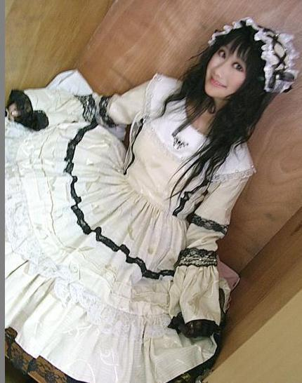 Lolita Maid princess dress cosplay convention costumes dress Customize free shipping