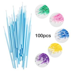 Image 5 - Одноразовые микрокисти , для индивидуального наращивания и снятия ресниц, 100 шт/упаковка