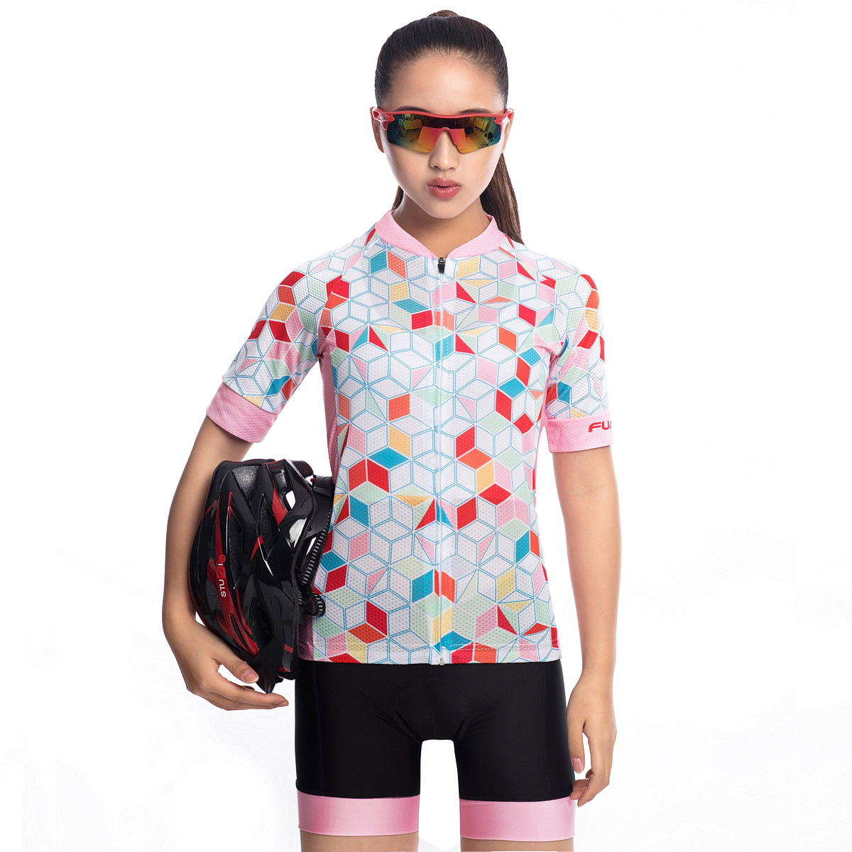 FUALRNY Summer Women MTB Bike Cycling Clothing Breathable Mountain Bicycle Clothes Ropa Ciclismo Quick Dry Cycling Jersey Sets|Cycling Sets| |  - title=