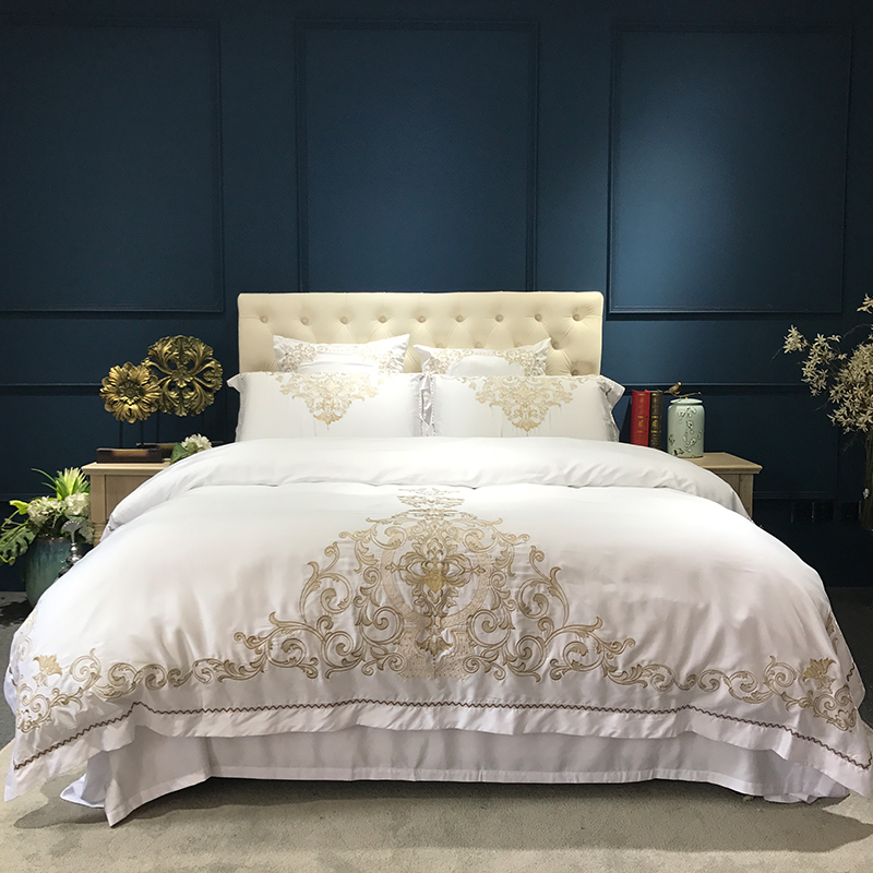 High End Luxury Home Textiles Of 100 Cotton Solid Color