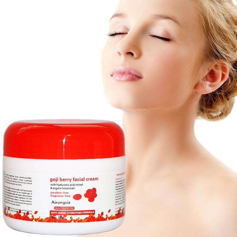 2017 Hyaluronic Acid Goji Cream Face Cream Chinese Wolfberry Medlar Multi Effect Anti Wrinkle Inhibit The Activity of Tyrosinase стоимость