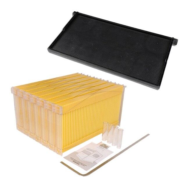 Envío libre inteligente automático flujo de la miel 7 marcos y 10 un ...