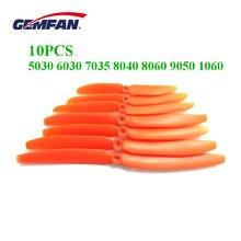10 шт. Gemfan 5030 6030 7035 8040 8060 9050 1060 винт с прямым приводом для RC модели самолетов для фиксации крыла самолета