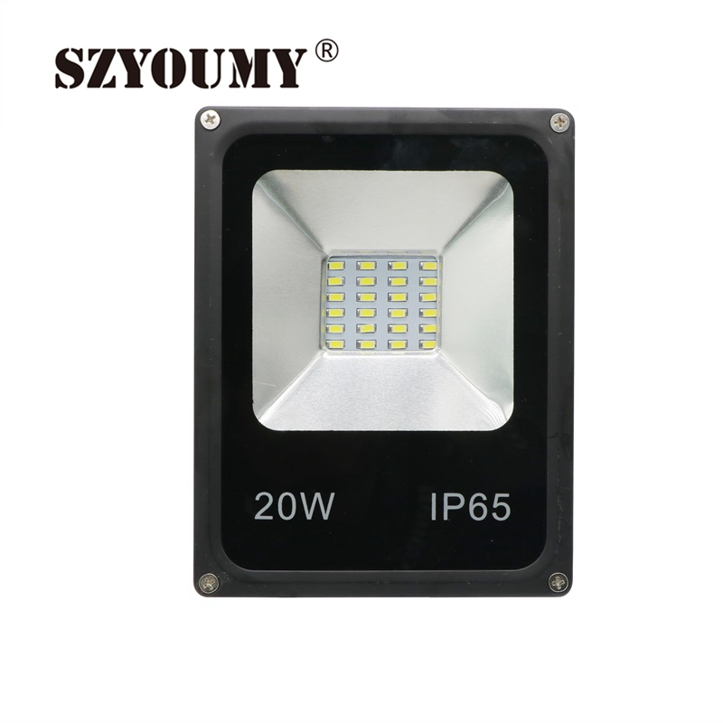 The Best Szyoumy Smd5730 20w 1600lm Ac85-265v Waterproof Smd 5730 Led Flood Light Floodlight Spot Landscape Light With A Long Standing Reputation Floodlights