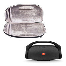 2018 החדש ביותר נסיעות נשיאת PU + EVA מגן פאוץ כיסוי Case התיק עבור JBL תיבת רמקול Boombox Bluetooth האלחוטית רמקול מקרה