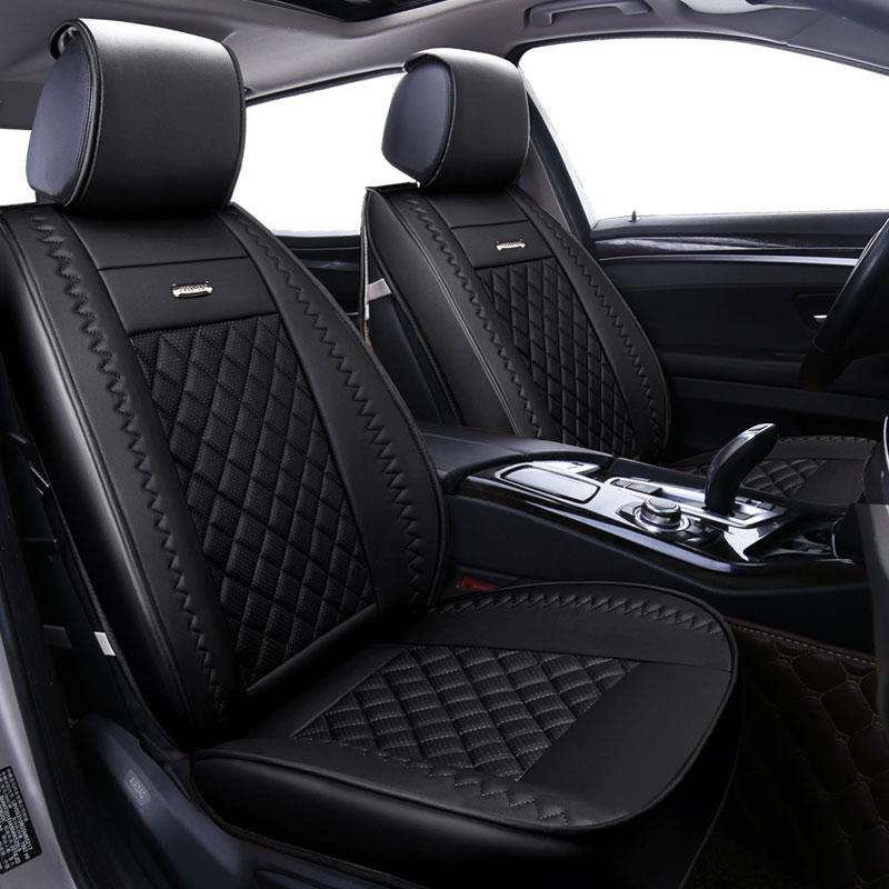 Acheter PU En Cuir universel couverture de siège de voiture couvre pour benz mercedes c180 c200 gl x164 ml w164 ml320 w163 w461 w463 x204 2005 2006 2007 de car seat cover fiable fournisseurs