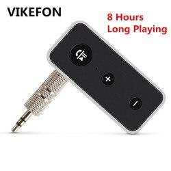 Récepteur Bluetooth 5.0 sans fil stéréo musique Audio récepteur 3.5mm Jack voiture Aux Bluetooth adaptateur pour haut-parleur casque mains libres