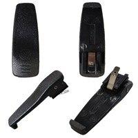 מכשיר הקשר קליפ חגורה חסון 10pcs XQF מכשיר הקשר אביזרים עבור מוטורולה GP3688 / CP040 / CP140 Handy CB רדיו Communicator (3)