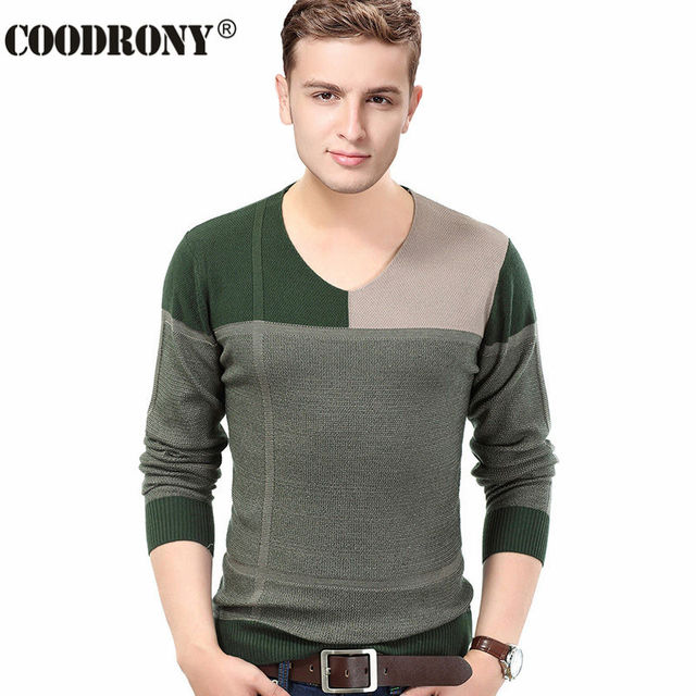 Top Quality Autumn Winter New Thick Warm Sweater Men Knitted ...