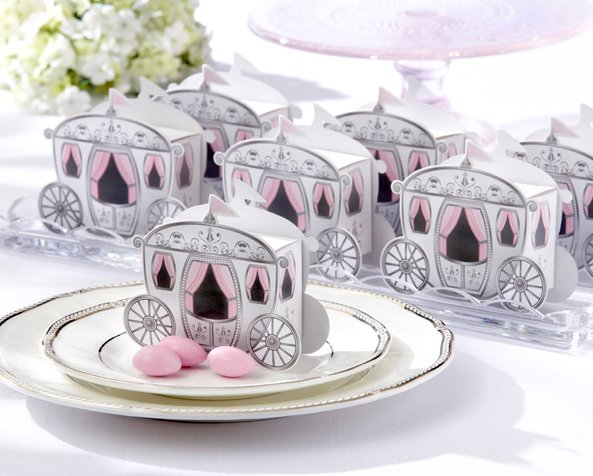 10pcs  Crown Fairy Tale Pumpkin Carriage Wedding Candy Box Marriage Charm Shower Favor Candy Boxes Wedding Party Gift Hold Bag