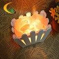 Гималайский кристалла соли лампа спальня настольная лампа регулируемый свет ночники настольная лампа творчески Европейский