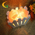 Sal del himalaya lámpara de cristal dormitorio lámpara de mesa de luz ajustable lámpara de mesa lámpara de noche creativa de la moda Europea