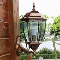 10pcs 220v E27 European Style Villa Courtyard Balcony Garden Corridor Wall Lamp Wall Lamp Outdoor Lighting