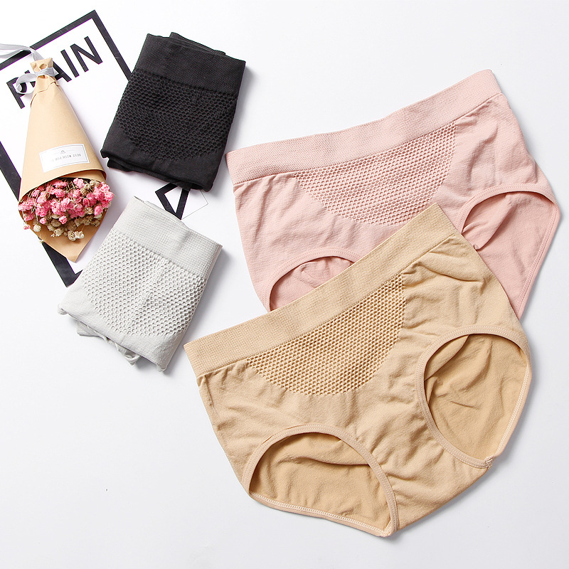 Women's Panties Underwear Mid- Waist Sexy Briefs for Women Cotton Bikini Sexy Panties Seamless Girl Underwear Women Panty