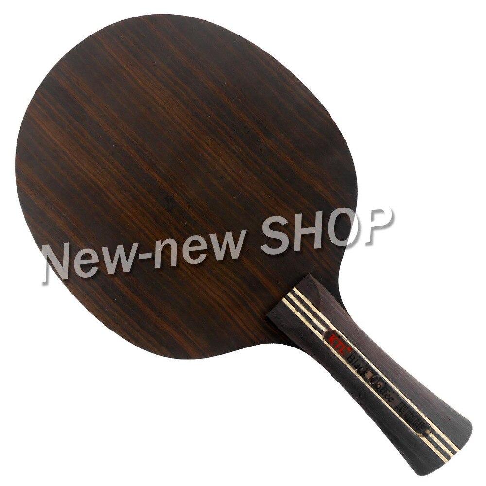 KTL Ebony 7 Black Coffee Transformer Shakehand Table Tennis Blade proac response d 48 ebony