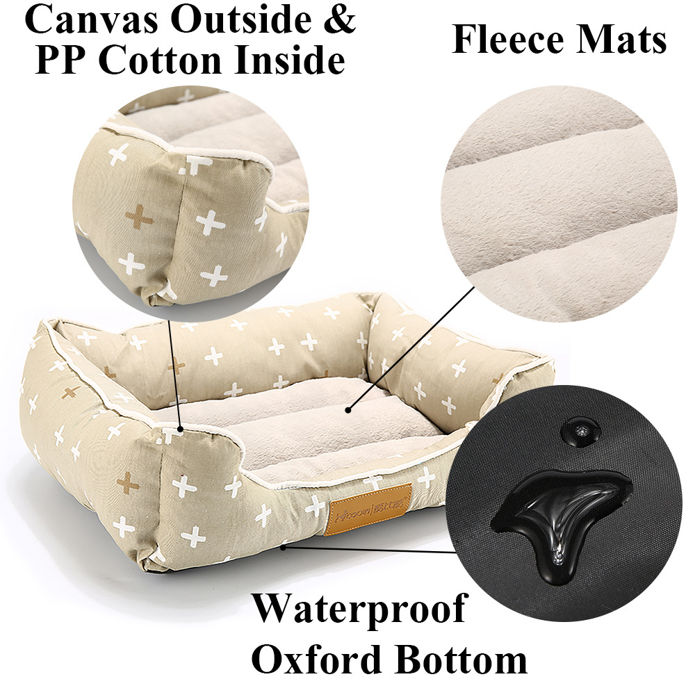 Pet Bed For Dogs Bench Soft Cats Lounger For Pet Hand Wash Dog Bed For Cats Durable Bench Chihuahua Pets Large Dog Beds (19)