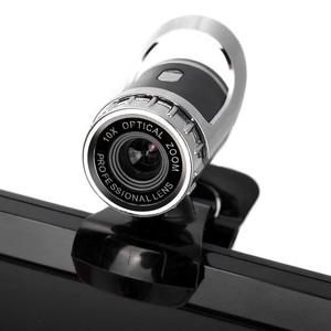 Webcam USB High Definition Camera Web Cam 360 Degree MIC Clip-on For Skype Computer With Mic PC Laptop Drop Shop(China)