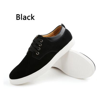 8c2fd88eee575 2018 New Fashion Autumn Winter Suede Men Shoes Men Canvas Shoes Leather  Casual Breathable Shoes Flats Big Size 38 49 Free Ship-in Men s Casual Shoes  from ...