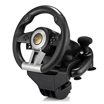 PXN V3II Racing Game Steering Wheel USB Vibration Dual Motor with Foldable Pedal for PS3 PS4 Xbox One Gaming Remote Controller 2