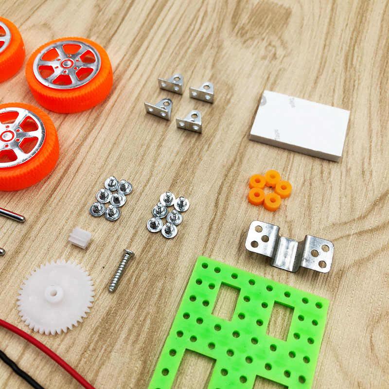 DIY Solar Toy Car Accessories Solar Vehicle Mini Solar Energy Power Toy For Child Kid Solar Car Education Gadget Gift Outdoor