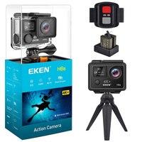 Eken H6s Экшн-камера 4 K 30fps видео wifi 14MP Ultra HD с чипом A12 30 м Водонепроницаемая мини-камера Go для путешествий Pro спортивная камера
