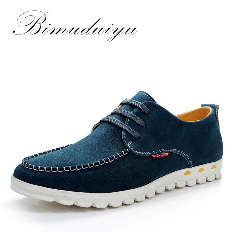 BIMUDUIYU Designer Male Footwear Men s