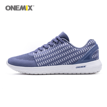 ONEMIX Running shoes for Men 2019 New Weave Knit Sneakers Brand Sport Light Comfortable Outdoor Barefoot Walking shoes jogging onemix new men s running shoes outdoor walking sport shoes light jogging sneakers for adult athletic trekking shoe men size