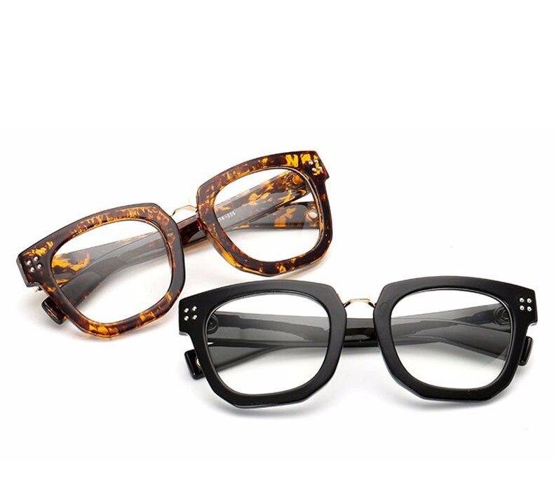 402c1f73d110f ⊰Ralferty Moda Unissex Óculos de Armação de Olho Com Lente Clara ...