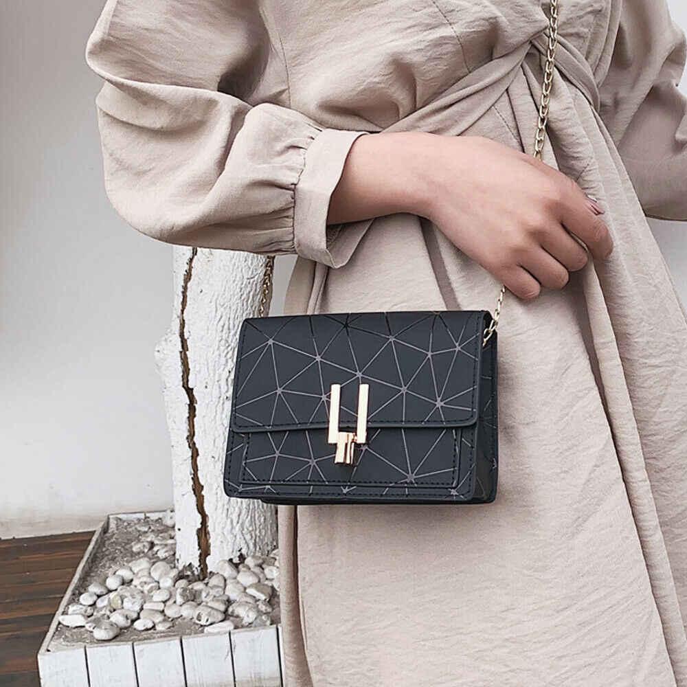 Nowy marka Pu skóra moda torba 2019 luksusowe kobiety Hasp małe torby torebki rozrywka torby na ramię crossbody