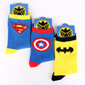 The Avengers Series Children's Cotton Socks With Cute Signal Printed Warm Socks For Autumn And Winter Boys And Girls Fancy Socks