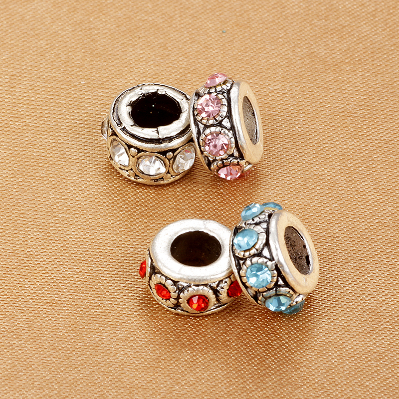Beads Symbol Of The Brand Spinner Her Majesty Spacer Charm Beads Fit Pandora Original Bracelet Necklace Authentic Jewelry Gift