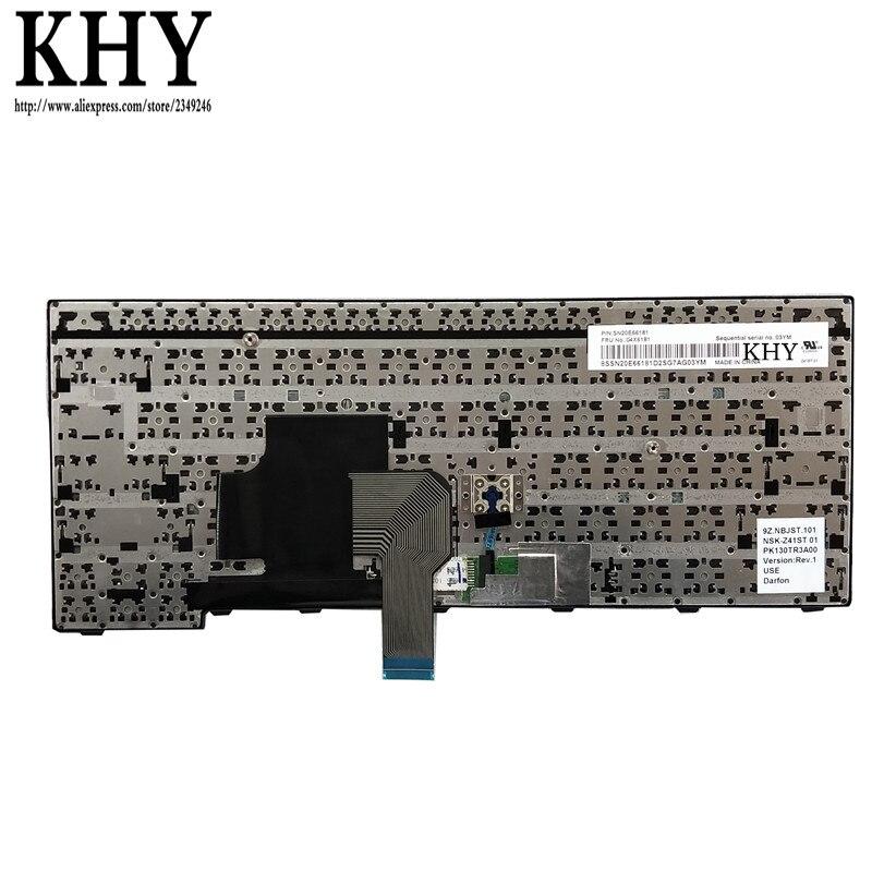 New Genuine Lenovo Thinkpad Edge E450 E450c E455 US Keyboard 04X6101