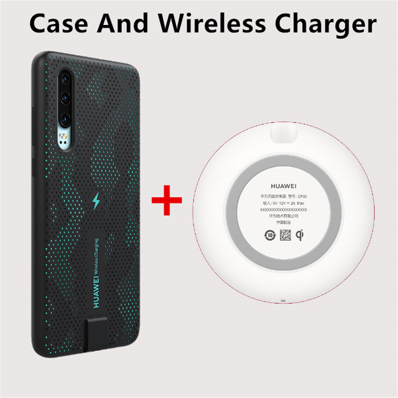 Image 5 - HUAWEI P30 Wireless Charging Case Original Official Huawei CNR216 UVT Qi 10W Magnetic Back Cover Supports Car Mount ELE L09/L29-in Fitted Cases from Cellphones & Telecommunications