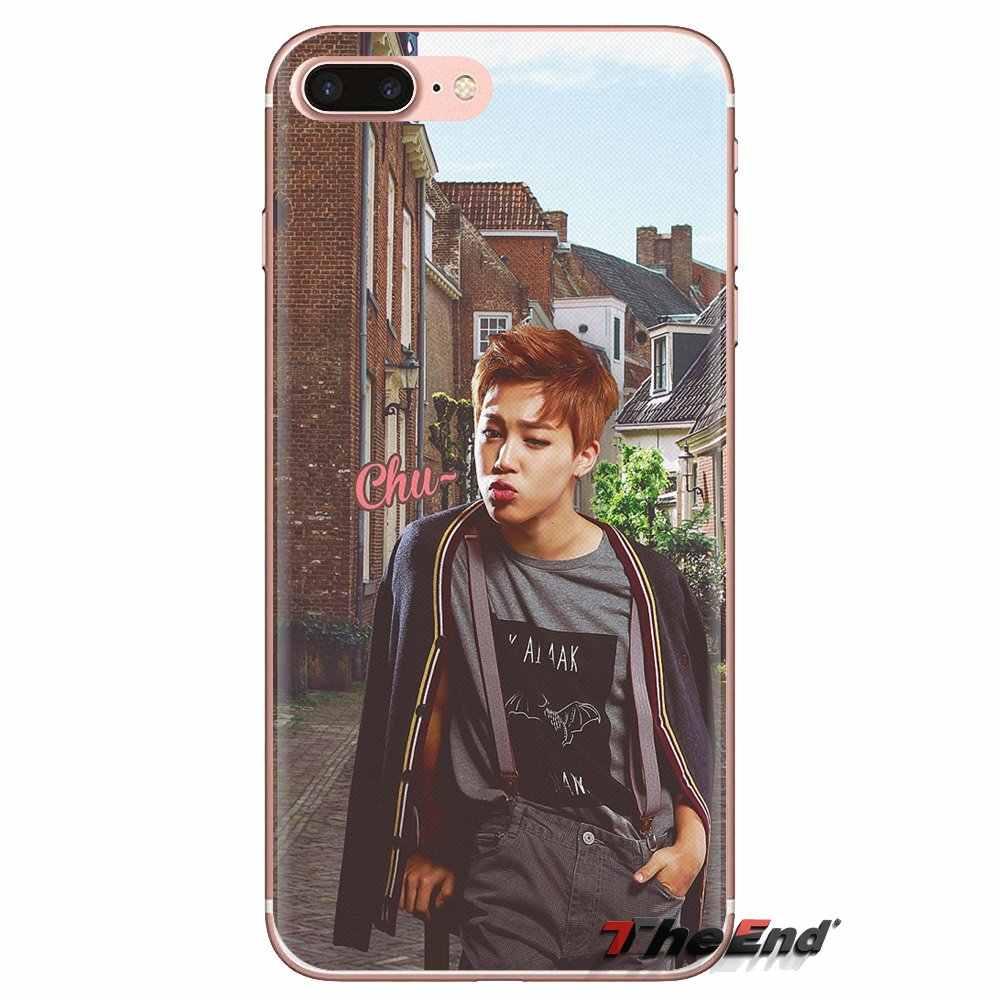 For Huawei Mate Honor 4C 5C 5X 6X 7 7A 7C 8 9 10 8C 8X 20 Lite Pro Bangtan Boys JIMIN SUGA Poster Transparent Soft Shell Covers