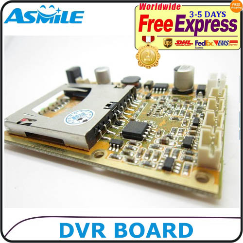 1CH mini dvr module HD XBOX DVR PCB Board up to D1(704*576) 30fps support 32GB sd Card 1 ch car dvr module d1 resolution mpeg 4 compressive format 32gb sd card supported mini size 60 45mm