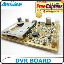 1CH mini dvr modul HD XBOX DVR PCB Bord bis zu D1 (704*576) 30fps unterstützung 32 gb sd-karte
