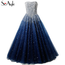 SoAyle Real Picture Prom Dresses Ball Gown