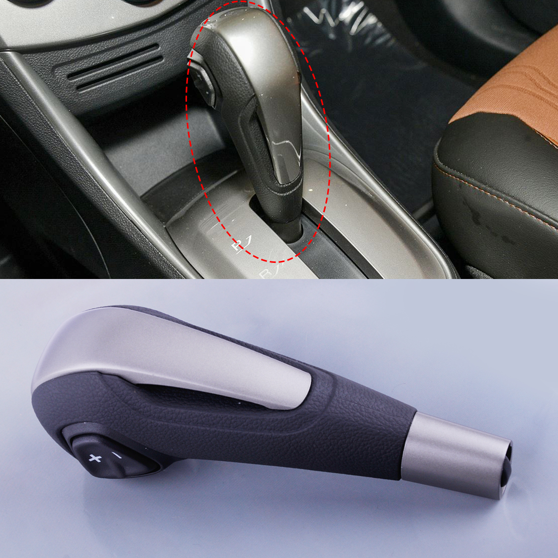 CITALL Chrome Gear Shift Knob AT Fit for Chevrolet AVEO Equinox Sonic Traverse 2277550 зубная электрощетка waterpik at 50 nano sonic