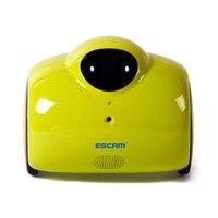 ESCAM Robot QN02 720 P WiFi IP Máy Ảnh Thông Minh Web Cam Cảm Ứng Tương Tác Di Chuyển Cười Tự Động Tính Phí Hỗ Trợ Video Từ Xa-màu xanh lá cây