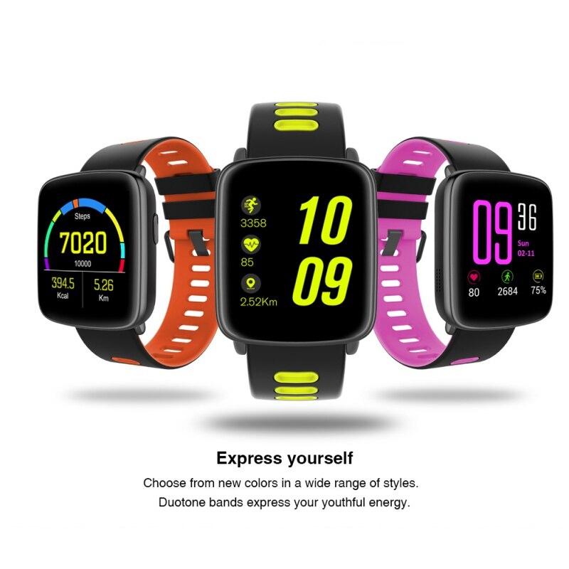New Fashion Sport GV68 Smart Watch Bluetooth Smartwatch Professional Waterproof Sports Heart rate monitor pedometer watch цена 2017