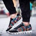 La primavera y el verano de lona de los hombres zapatos transpirables zapatilla deportive masculino gris ocasional zapatos fresco calle plana zapatos de deporte al aire libre