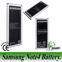 New 100% Original Samsung 3220mAH NFC Battery For Samsung Galaxy NOTE 4 IV N910a N910u N910F EB-BN910BBZ/BU NFC function