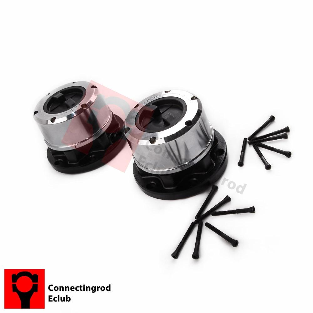 Brand New Pair Locking Hubs for Suzuki Samurai Sidekick Geo Tracker brand new pair wf10x 20 eyepieces for