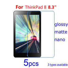 for Lenovo ThinkPad 8 8.3″/YOGA Book 10.1/Tab S8-50F 8″ Screen Protector, 5pcs Clear/matte/Nano anti explosion Protective Films