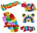 Double Sides Wooden Giraffe Thomas Train Puzzle Children Kids Alphabet Letter Mathematics Number ABC / 123 Jigsaw Toy  Digital